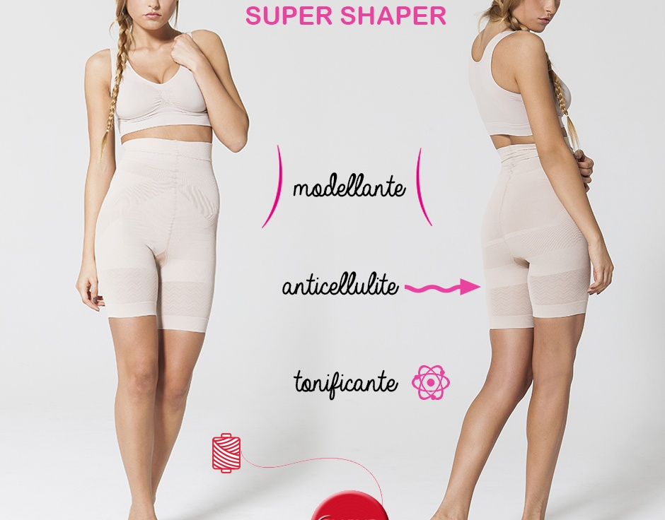 Loose a size with the shapewear in Emana fiber