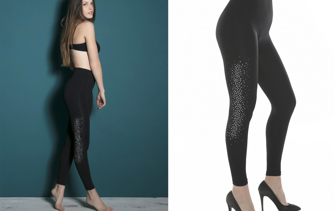 From today the Yoga Emana® leggings with rhinestones, pearls and studs are on offer!
