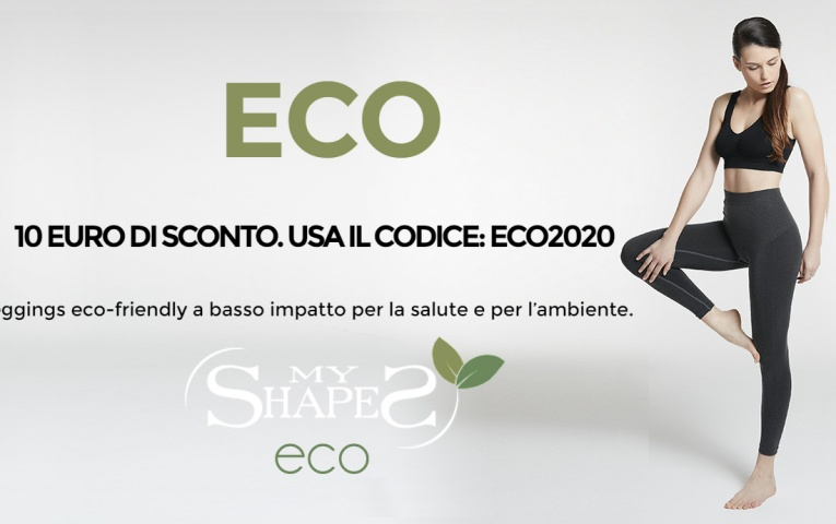 10 EURO DISCOUNT ON THE ECO FRIENDLY LINE