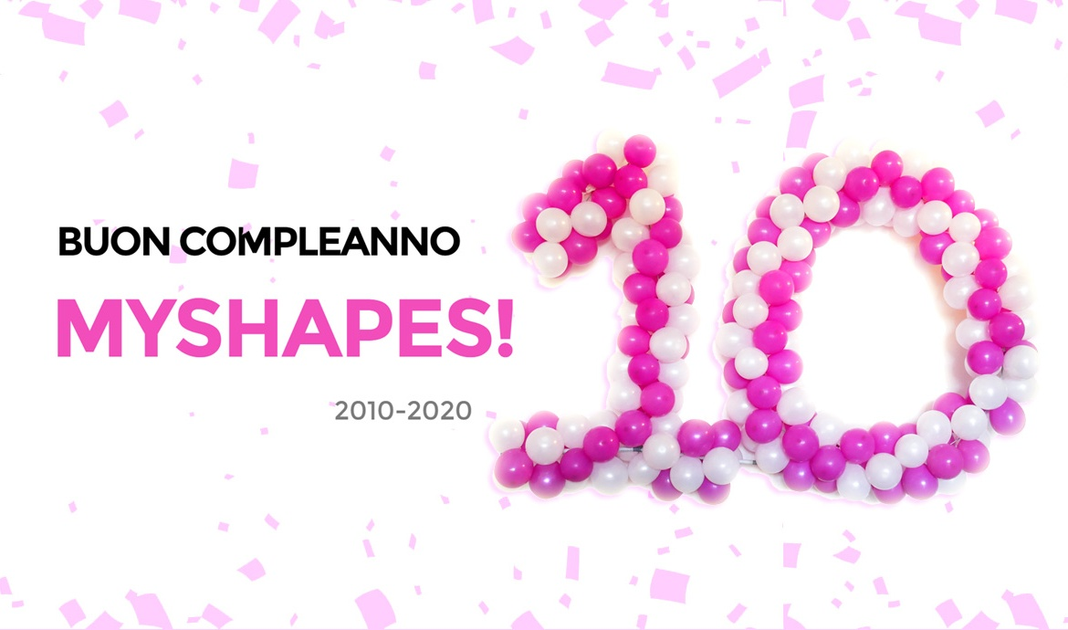 Buon compleanno MyShapes!