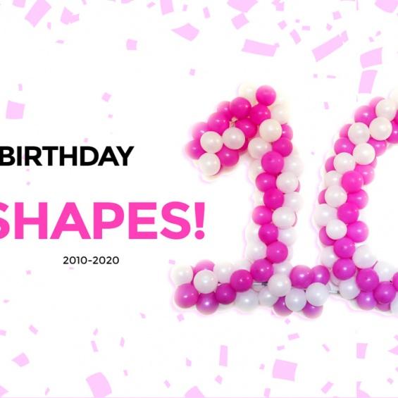 Happy Birthday MyShapes!