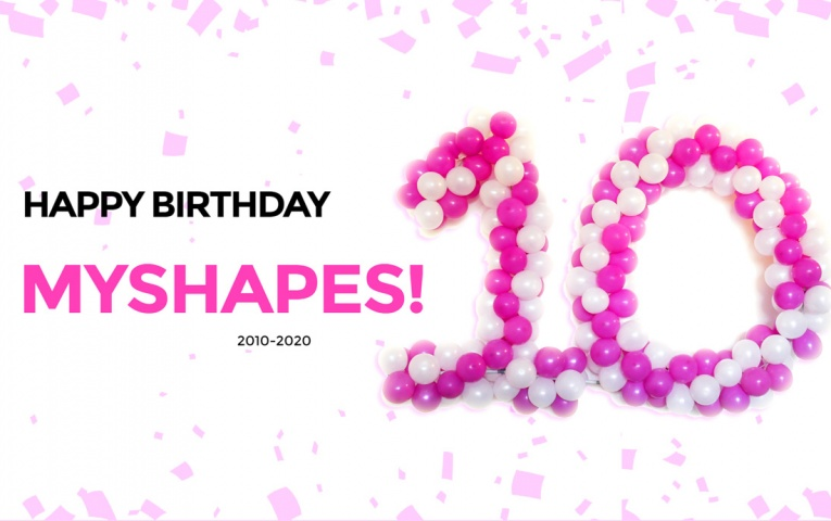 Happy Birthday MyShapes!