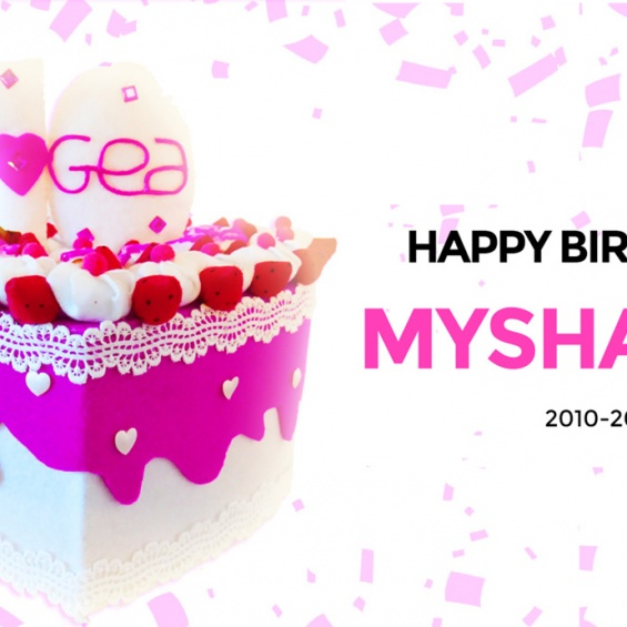 MYSHAPES blows out his 10 candles!