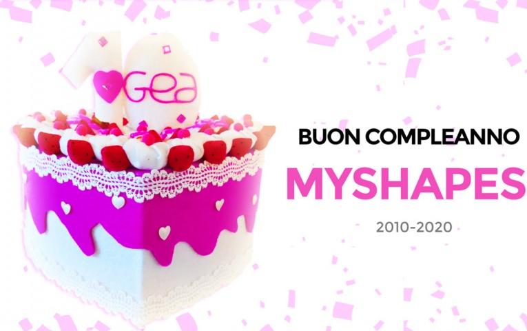 MyShapes soffia 10 candeline!