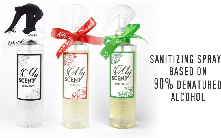 Sanitize your home with MYSCENT fragrances!