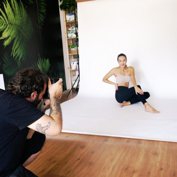 BACKSTAGE OF THE NEW SHOOTING!