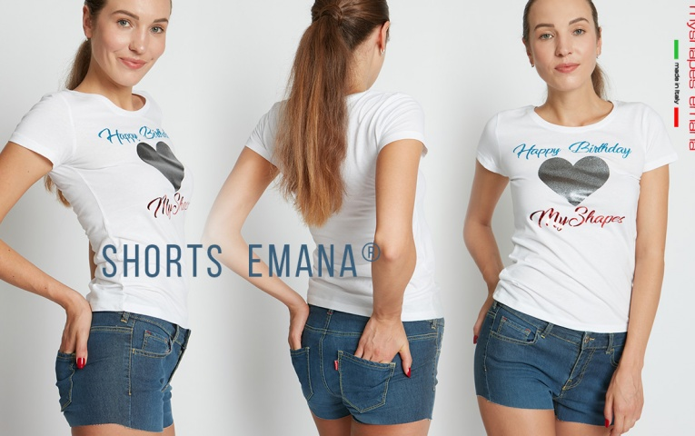 SHORTS EMANA DENIM: the new item of the summer!
