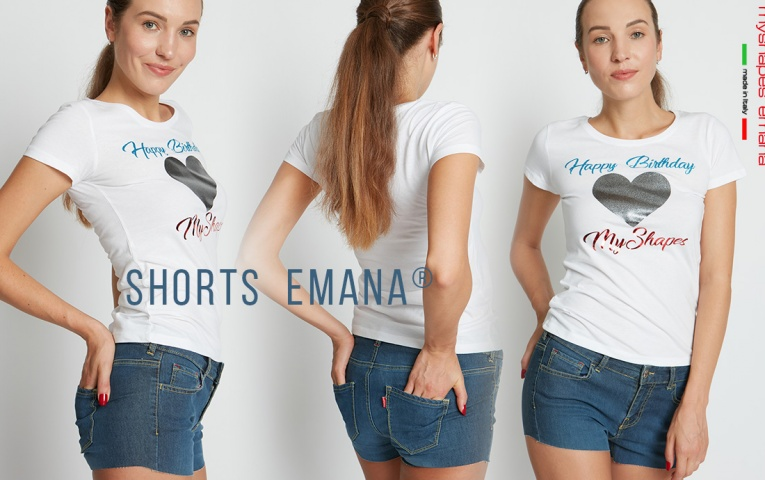 Super novità dell'estate: il nuovo SHORTS EMANA DENIM! 😍