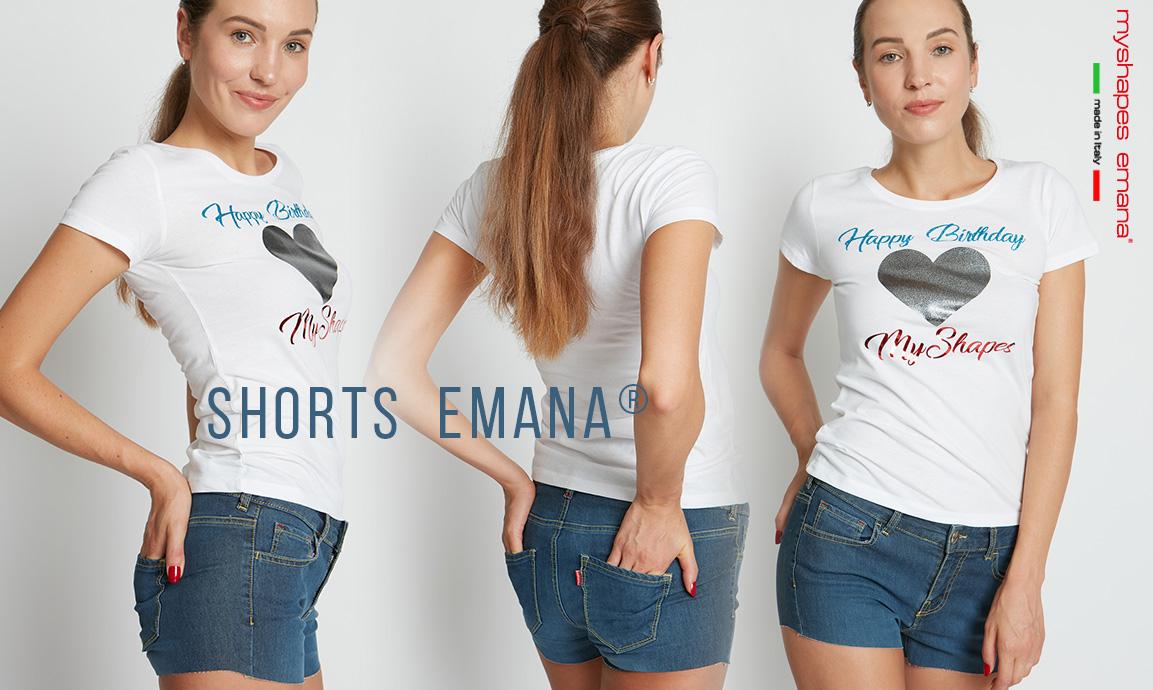 Super novità dell'estate: il nuovo SHORTS EMANA DENIM! 😍